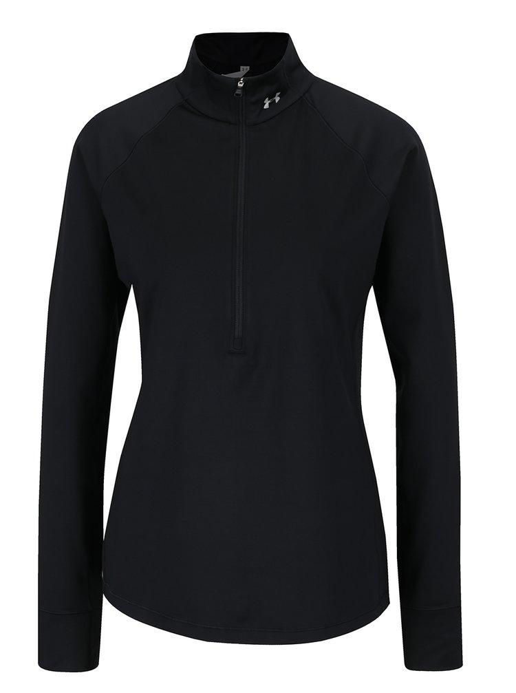 Bluză sport neagră Under Armour Coldgear pentru femei