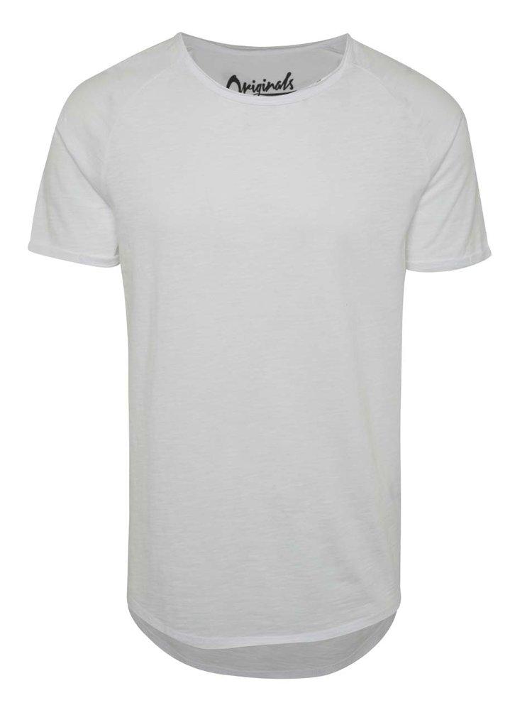 Bílé triko Jack & Jones Southern