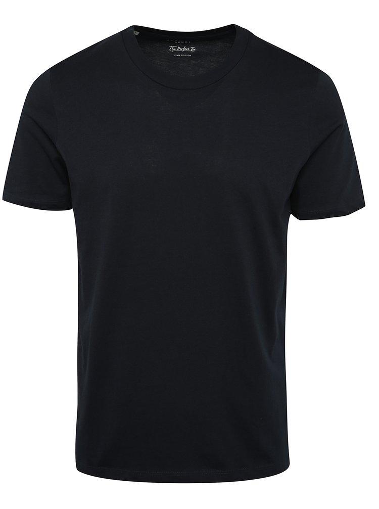 Tmavě modré triko Selected Homme The Perfect