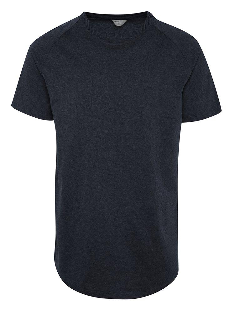Modré triko s krátkým rukávem Jack & Jones Corafe