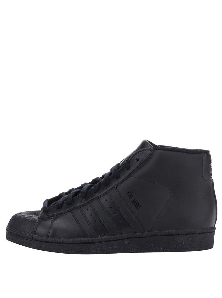 Černé unisex kotníkové tenisky adidas Originals