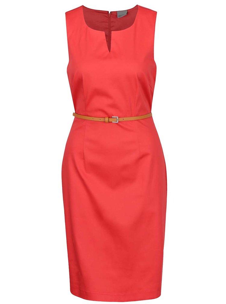 Rochie roșie fără mâneci VERO MODA Pekaya
