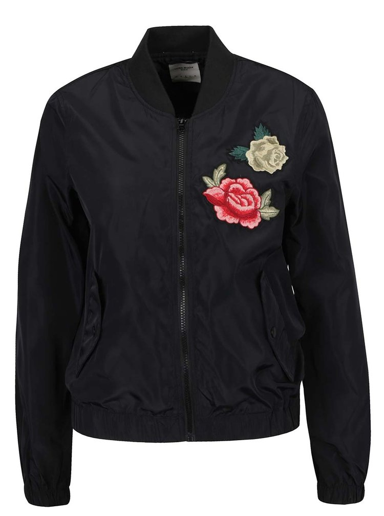 Jachetă neagră bomber VERO MODA Rose