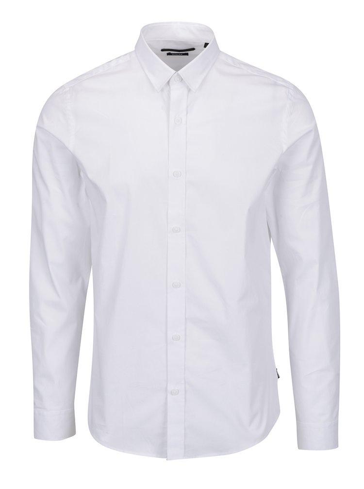 Bílá formální extra slim košile ONLY & SONS Alfredo