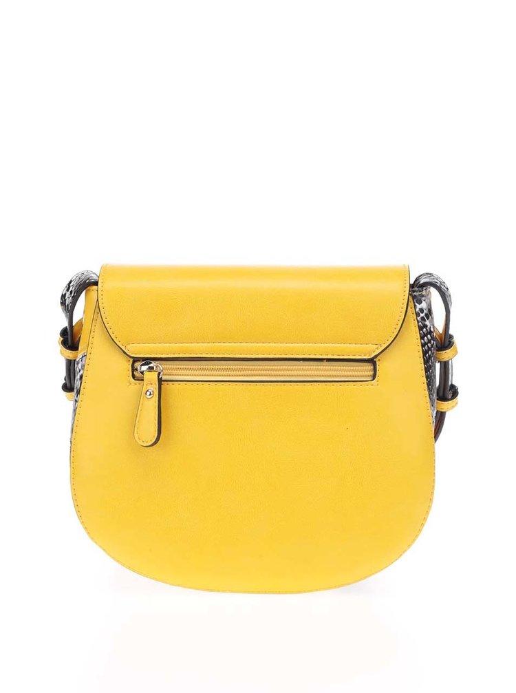8661e19c6 Žltá crossbody kabelka s prackou LYDC | ZOOT.sk