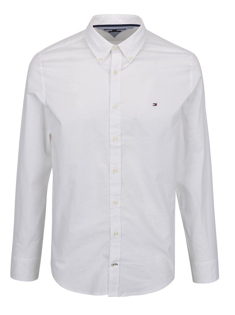 c557c62977b ... Bílá pánská formální slim fit košile Tommy Hilfiger