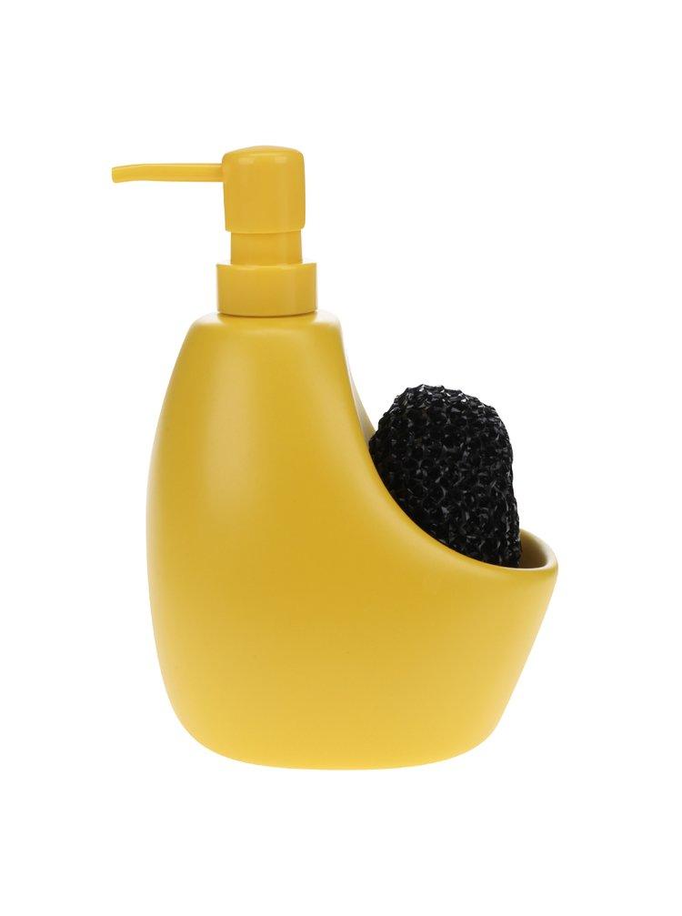 Žlutý dávkovač na saponát Umbra Joey