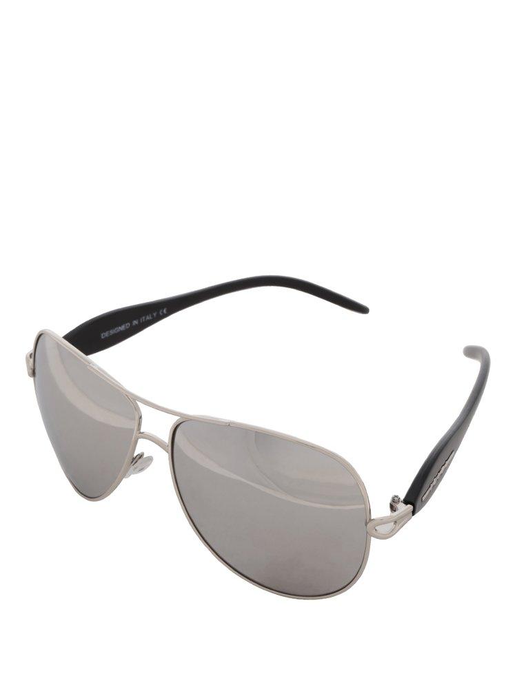Černé sluneční brýle s šedými skly Haily's Ibiza