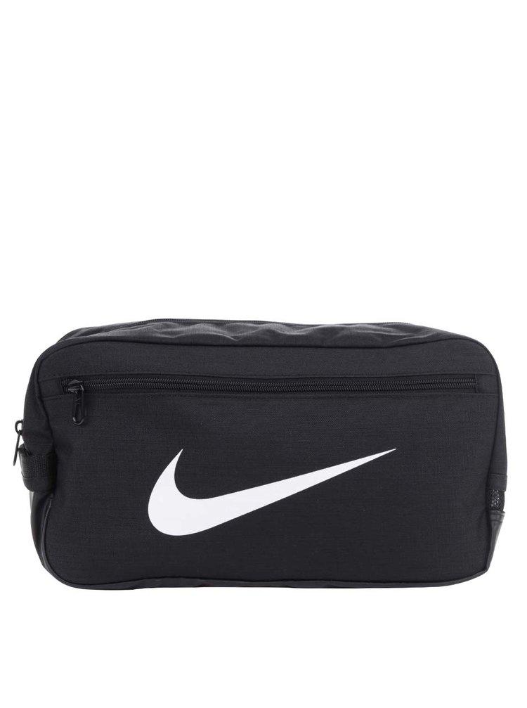 Černá voděodolná taška na boty s potiskem Nike