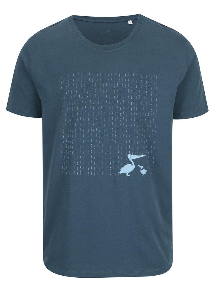 """""""Dobré""""  tmavomodré pánske tričko pre Care"""