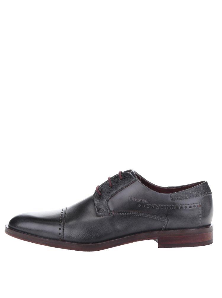 Pantofi gri închis bugatti Rainel