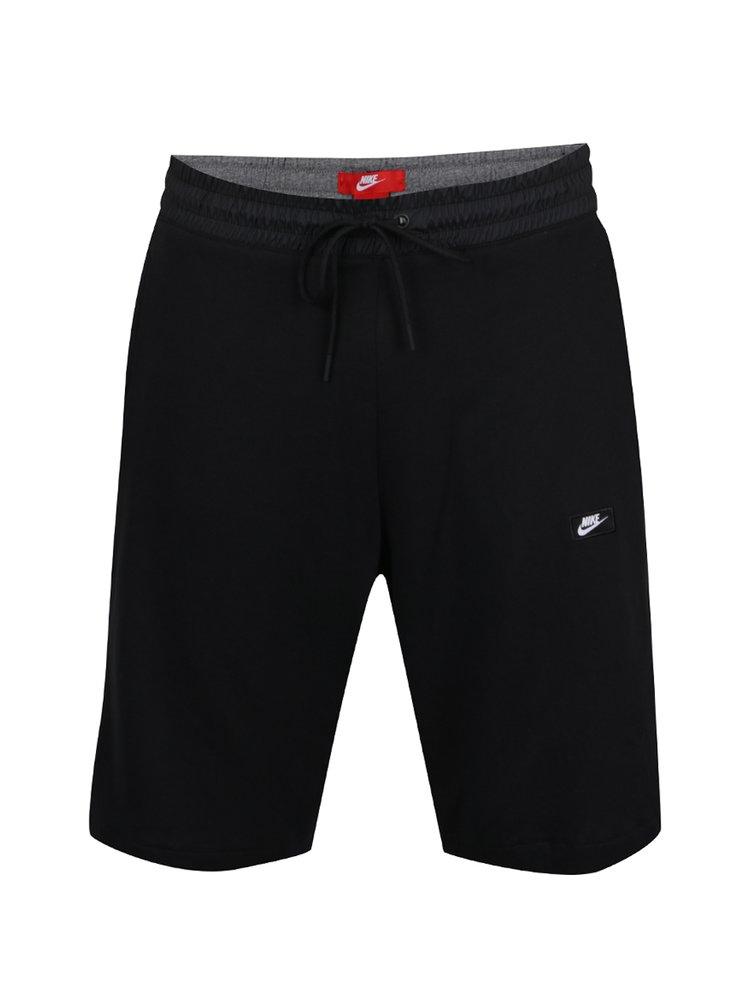 Černé pánské kraťasy s kapsami Nike Modern