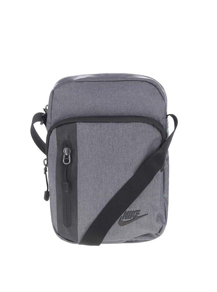... Šedá pánská crossbody taška Nike Core Small 21f26338a5b