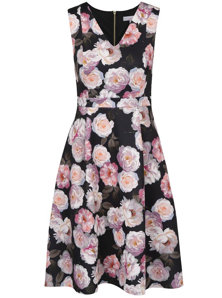 Rochie negru & roz Dorothy Perkins Petite clos