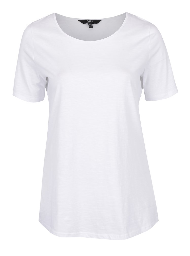 Bílé basic tričko pod košili Ulla Popken