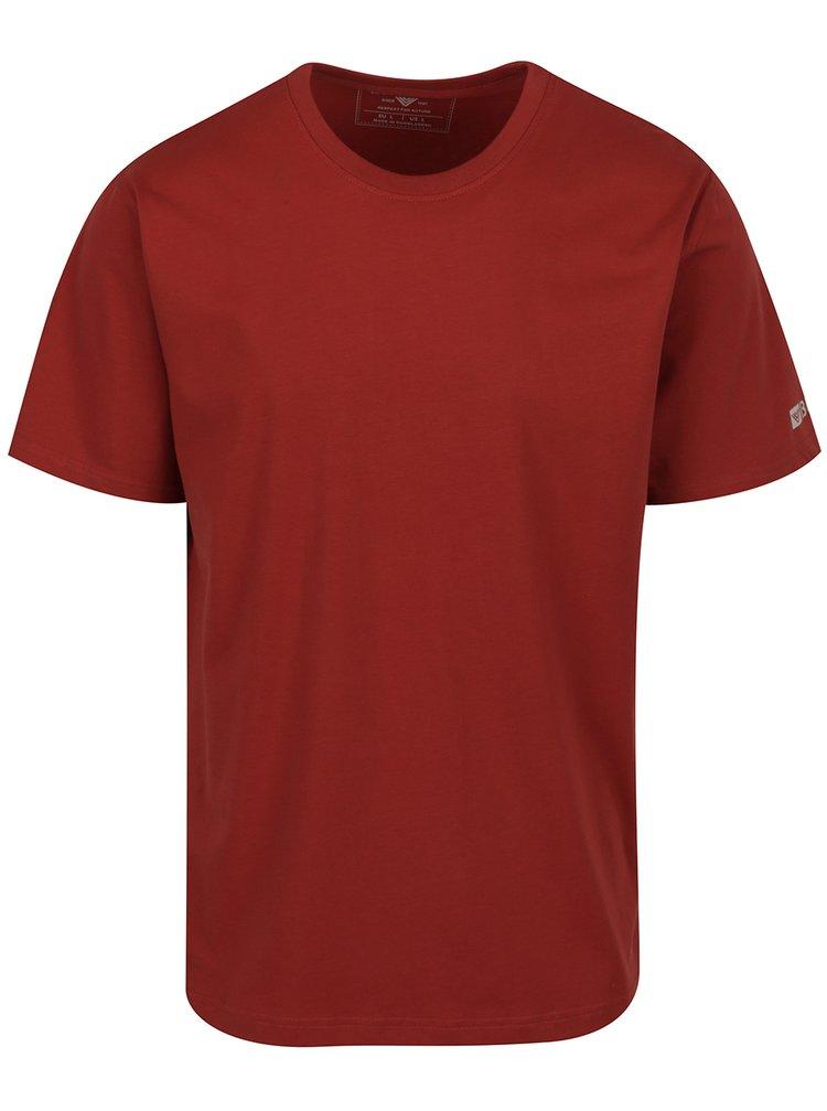 Vínové pánské tričko BUSHMAN Brady