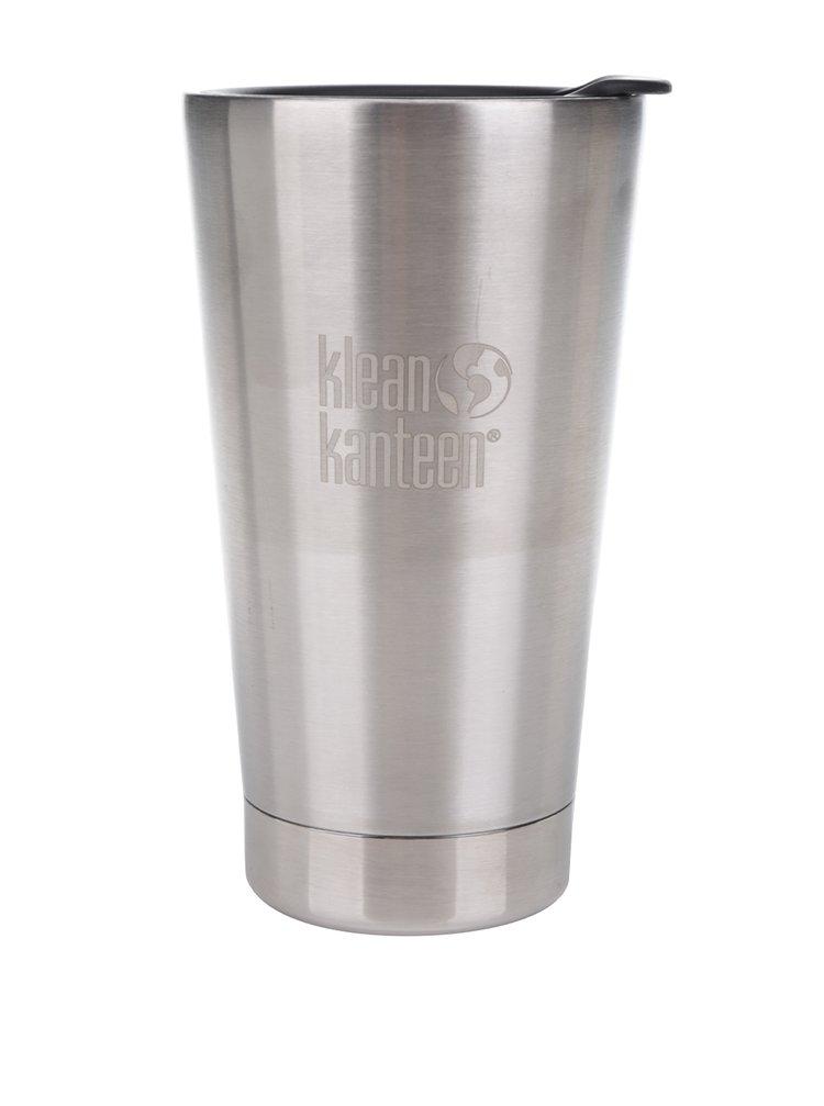 Nerezový termohrnek ve stříbrné barvě Klean Kanteen Insulated Tumbler 473 ml