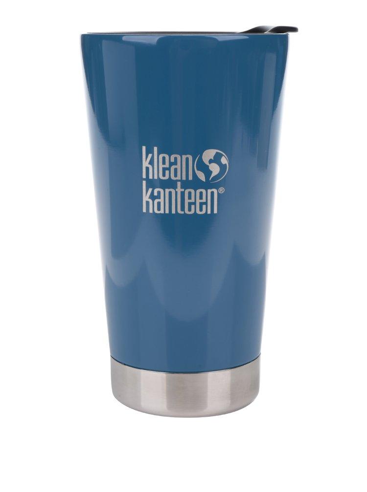 Modrý nerezový termohrnek Klean Kanteen Insulated Tumbler 473 ml