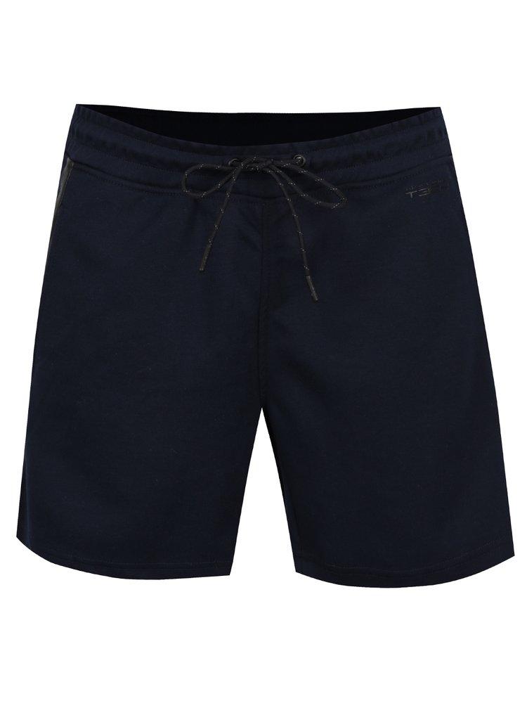 Tmavě modré teplákové kraťasy Jack & Jones Rub Sweat