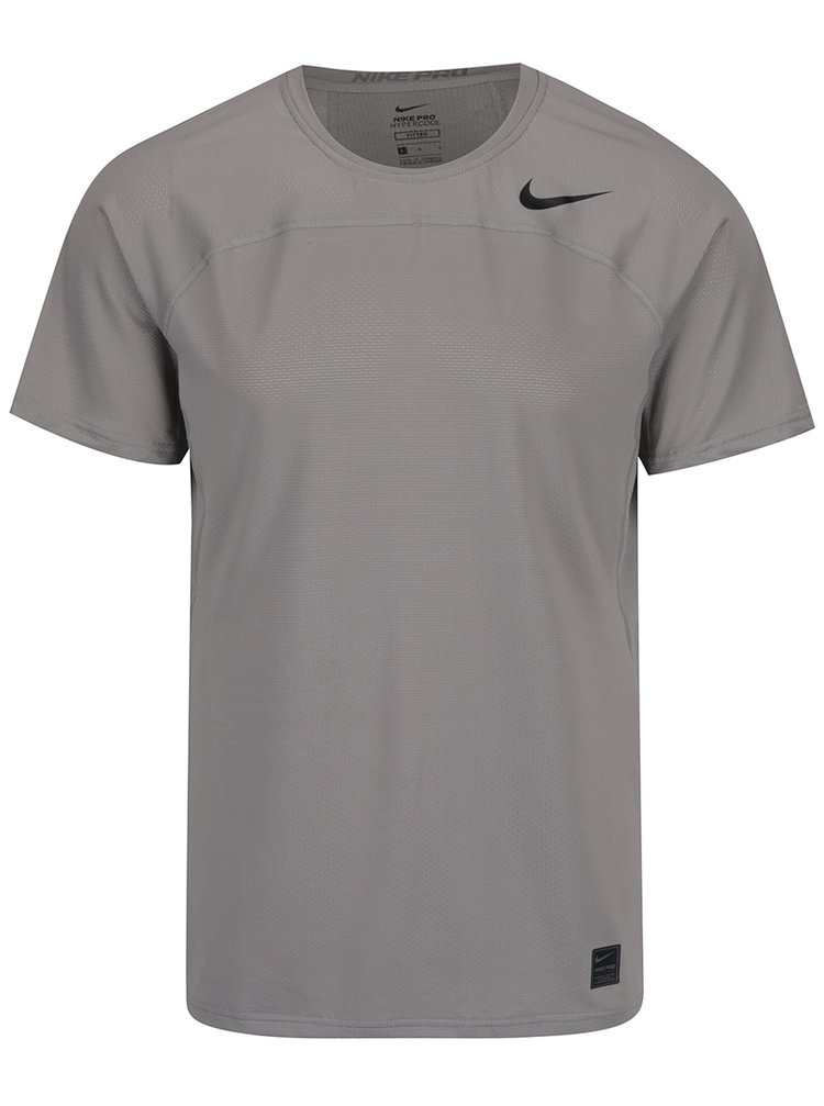 Tricou sport gri pentru bărbați Nike