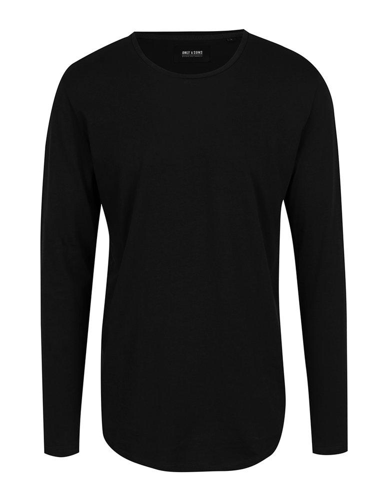 Bluza neagra basic ONLY & SONS Matt