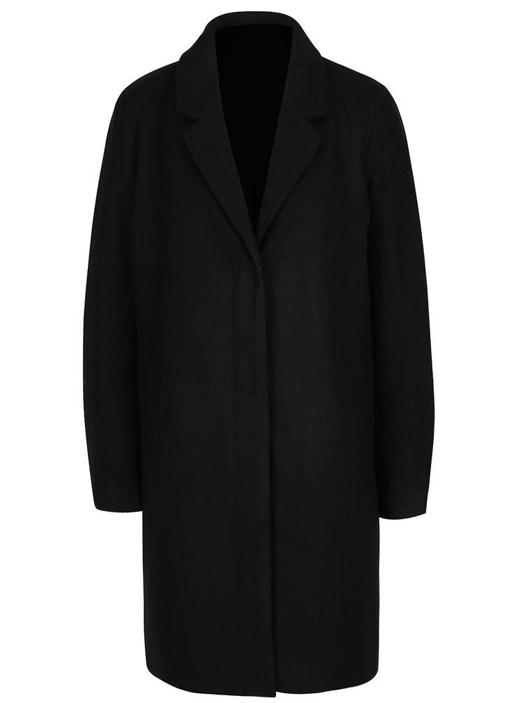 Čierny kabát VILA Comdon