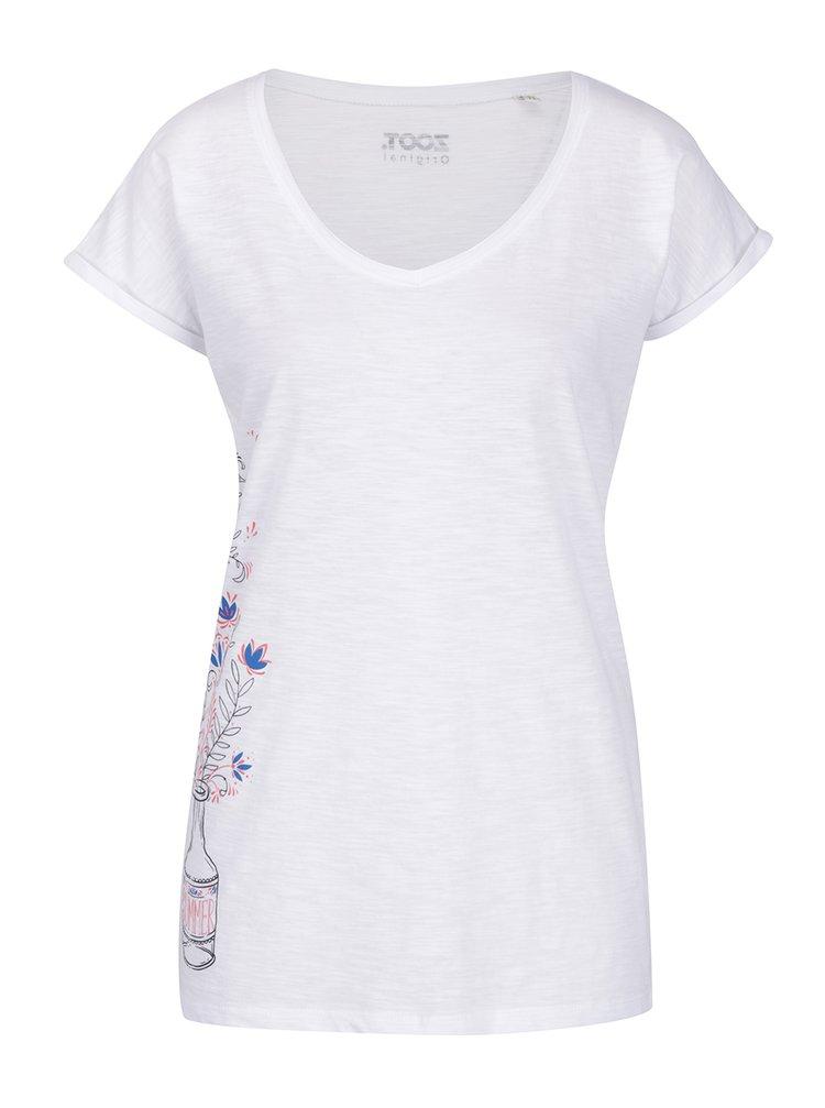 Bílé dámské tričko ZOOT Originál Summer