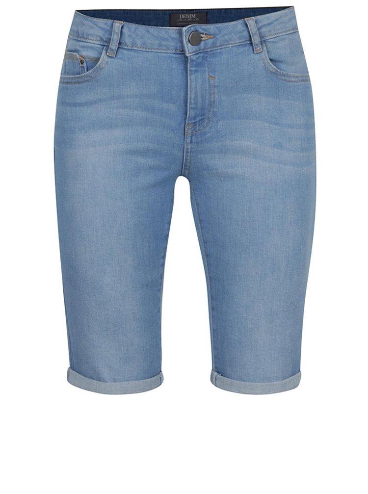 Pantaloni scurti albastru deschis Dorothy Perkins din denim