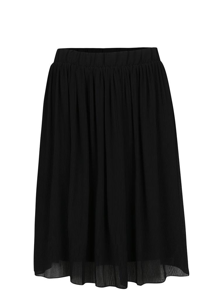 Černá plisovaná sukně VILA Asty