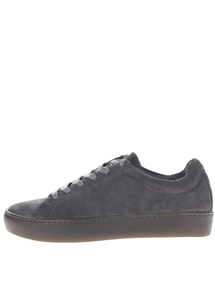 Pantofi sport gri din piele întoarsă Vagabond Zoe