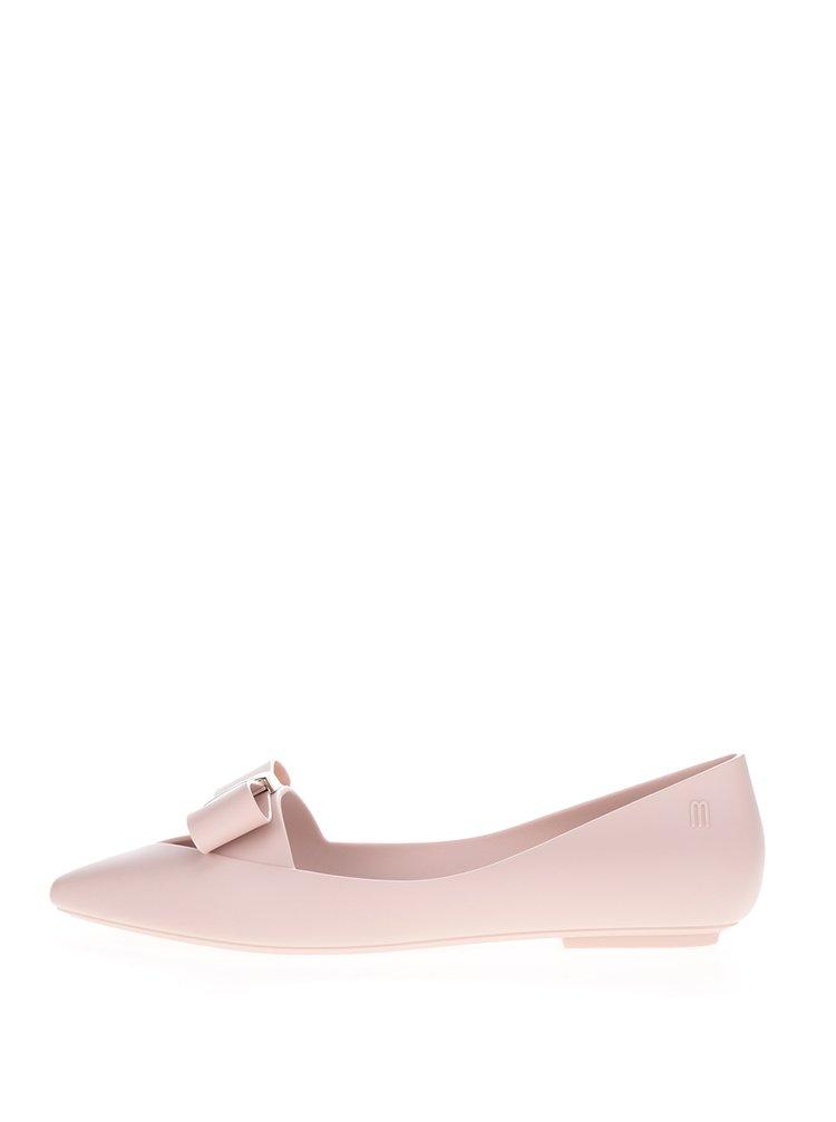 Světle růžové baleríny s mašlí Melissa Maisie