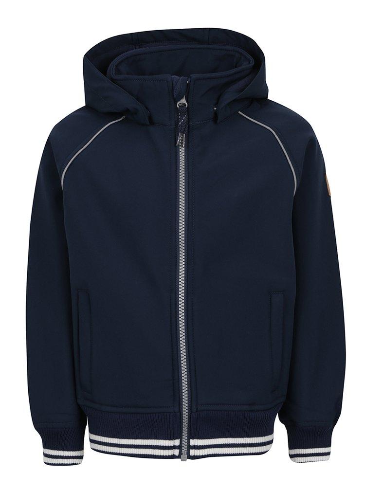 Modrá klučičí bunda s kapucí name it Alfa
