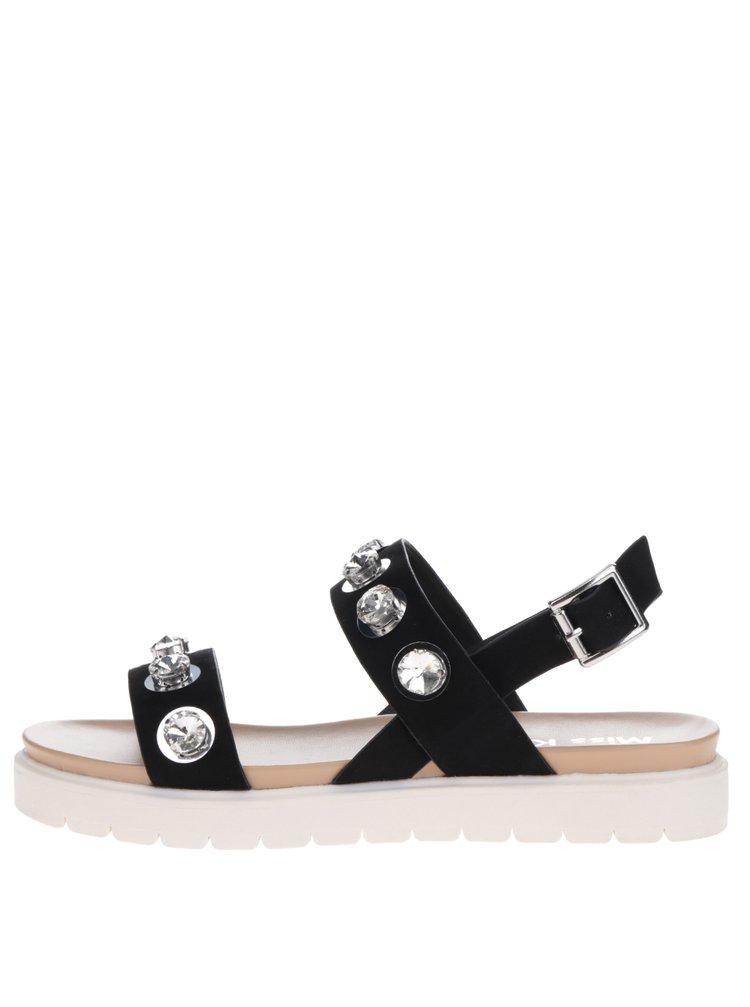 Černé sandály na platformě Miss KG Rita