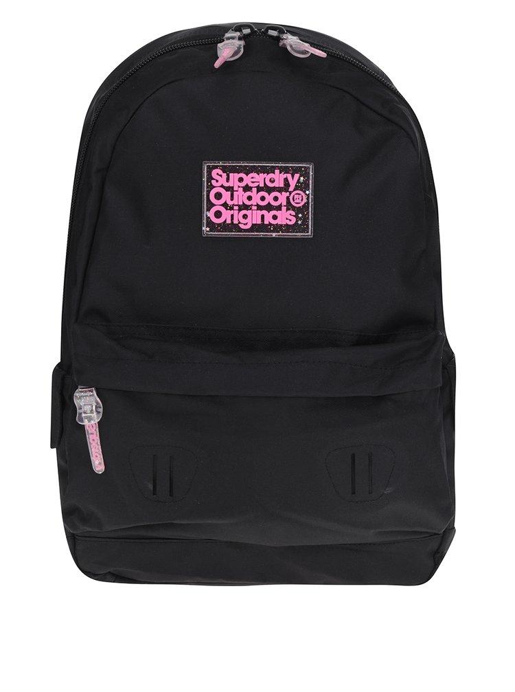 Černý batoh Superdry Montana 17 l