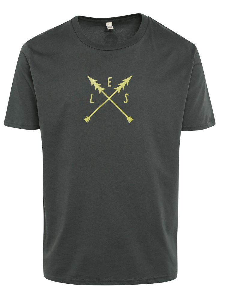 """""""Dobré"""" tmavě zelené pánské triko pro Asoiciaci lesních MŠ"""