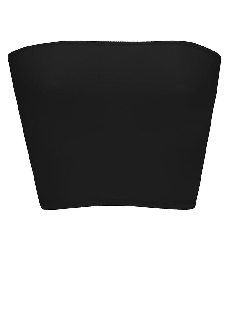 Čierna podprsenka bez ramienok ZOOT