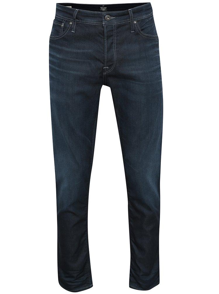 Tmavě modré comfort džíny Jack & Jones Mike