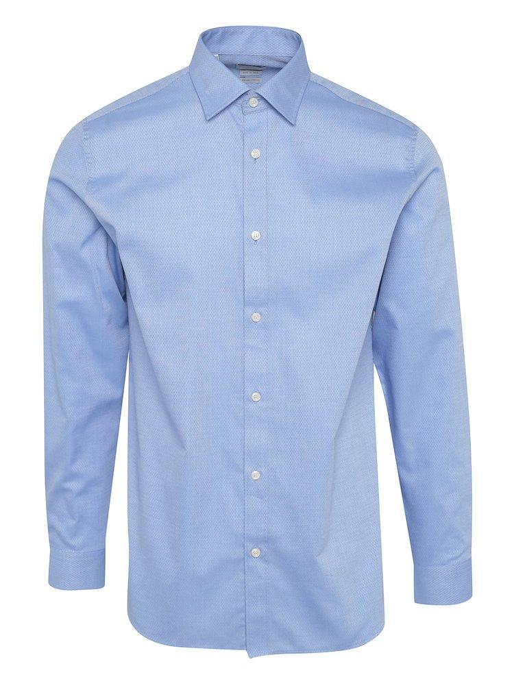 Camasa regular fit bleu cu model discret -  Selected Homme Two Pen
