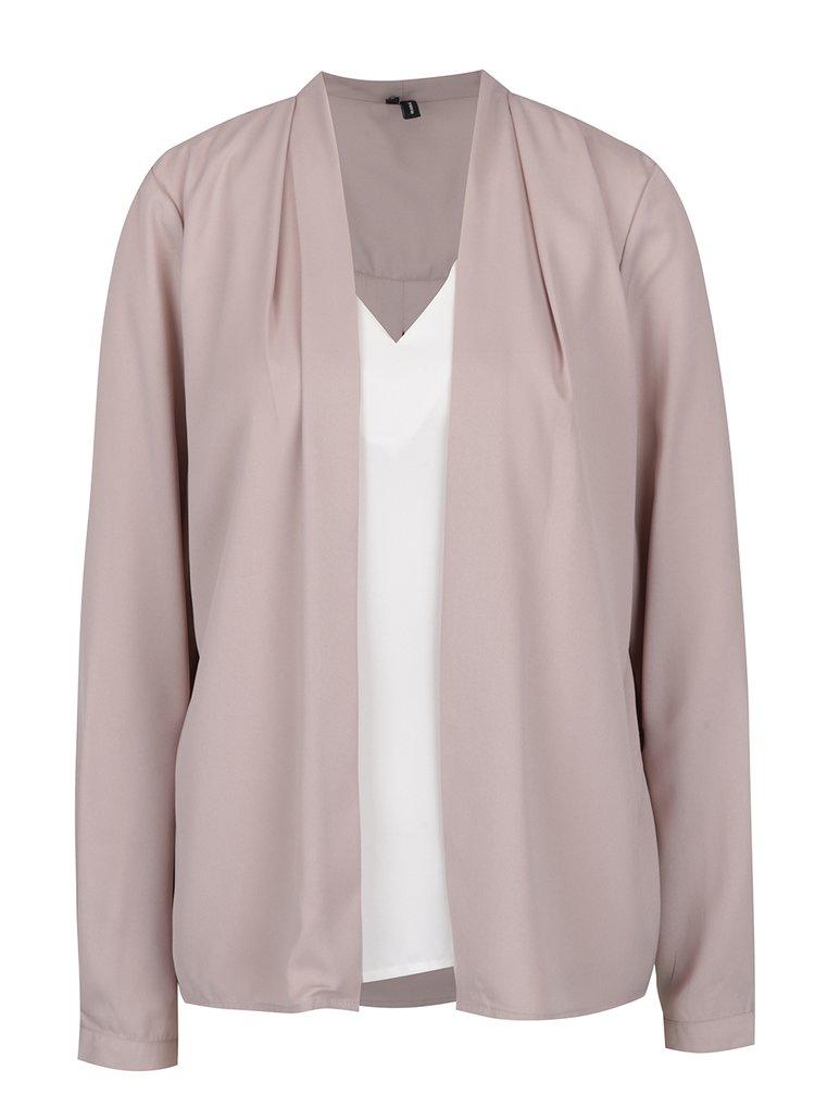 Bluză - cardigan roz pudrat - VERO MODA Emma