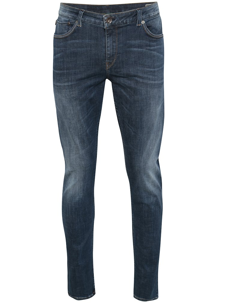 Modré pánské superslim džíny Garcia Jeans Femo