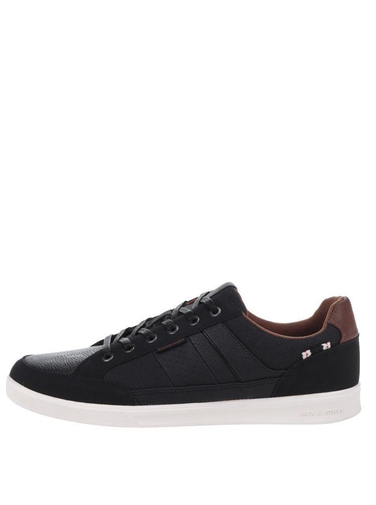 Pantofi sport negri Jack & Jones Wrayne