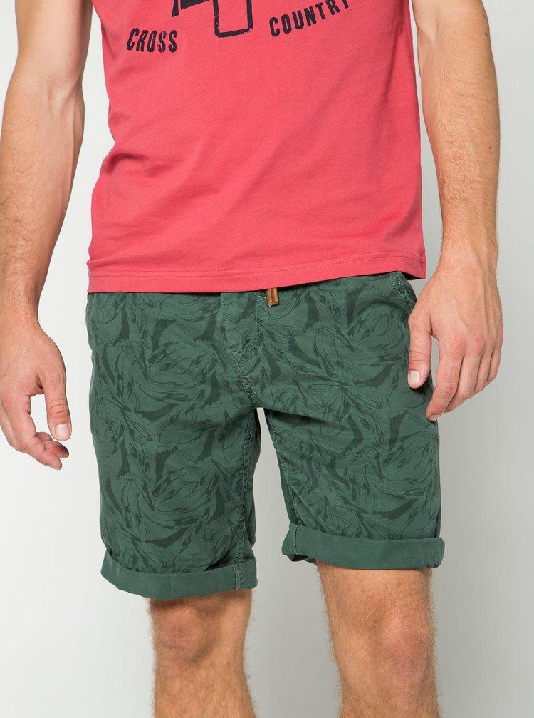 Pantaloni scurti kaki cu imprimeu Blend