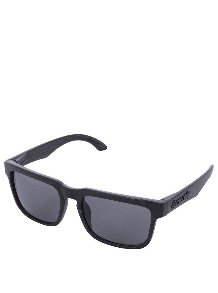 Ochelari de soare cu lentile negre pentru bărbați - Meatfly