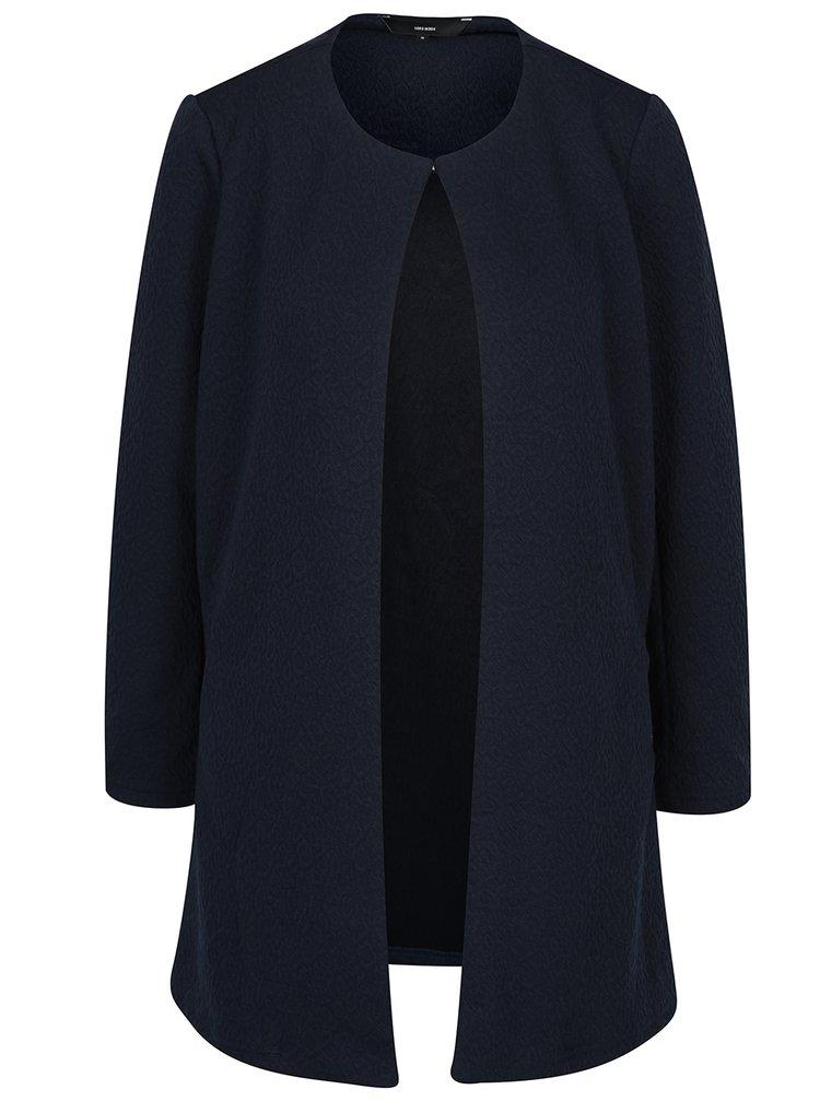 Jachetă bleumarin fără nasturi VERO MODA Stella