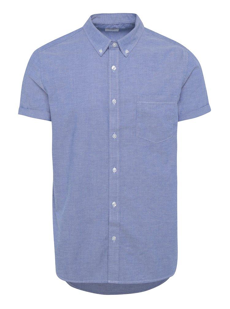 Svetlomodrá košeľa s vreckom Burton Menswear London