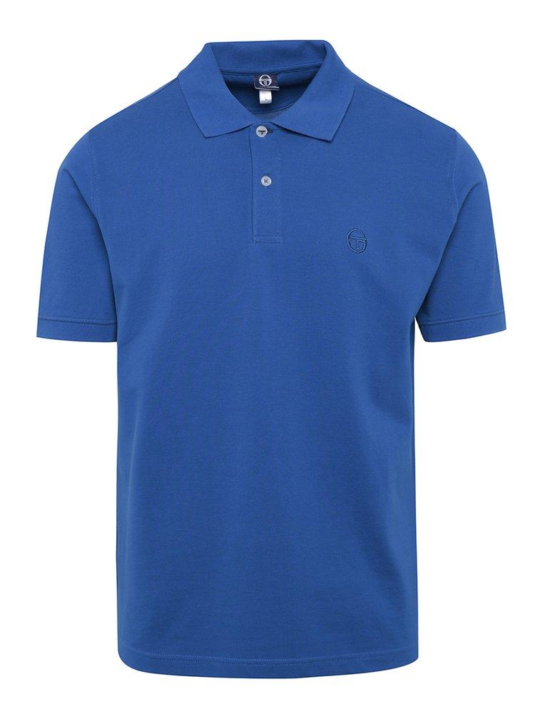 Tricou polo albastru pentru bărbați Sergio Tacchini Polo St