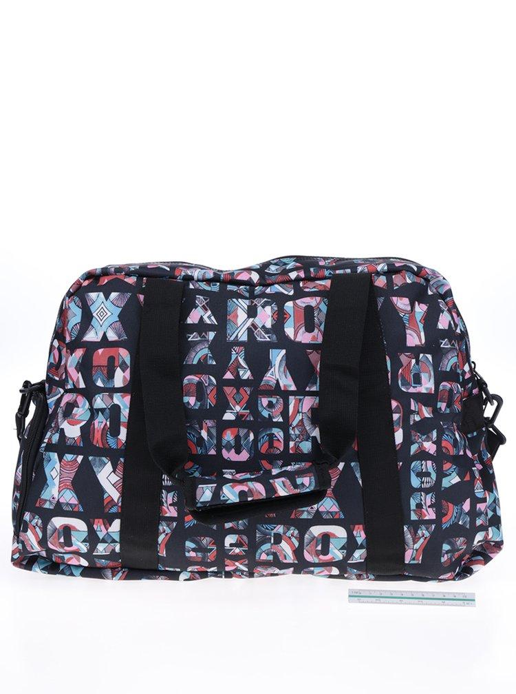 80c685f1a Černá sportovní taška s potiskem Roxy Sugar It Up   ZOOT.cz