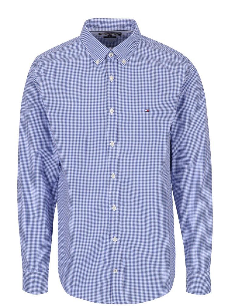 Světle modrá pánská kostkovaná košile Tommy Hilfiger Ivy