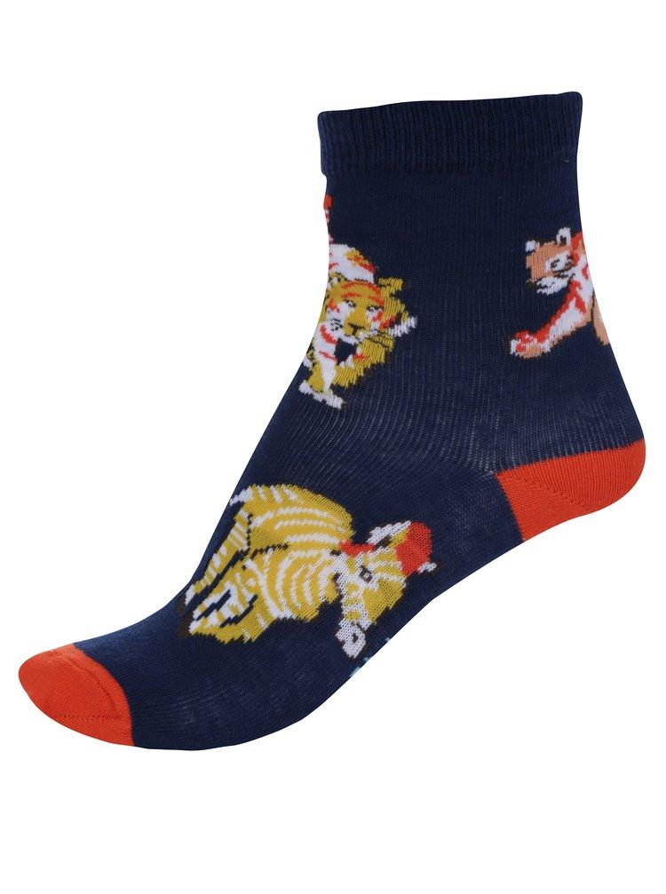 Tmavě modré klučičí vzorované ponožky Cath Kidston