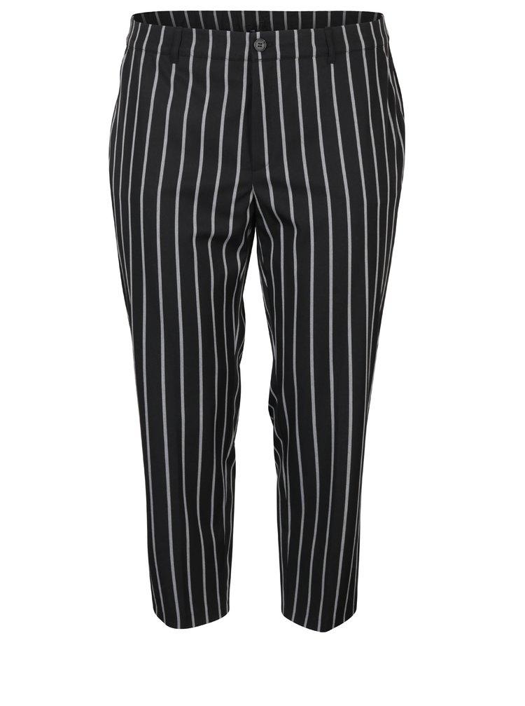 Pantaloni conici cu dungi Ulla Popken